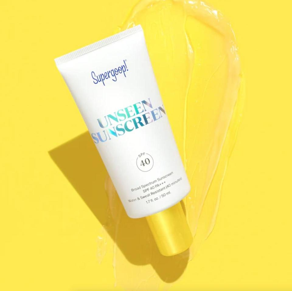 <p>The name says it all for the <span>Supergoop! Unseen Sunscreen SPF 40</span> ($34). The clear and scentless formula leaves no thick residues and makes for the perfect daily primer that goes on under your makeup.</p>