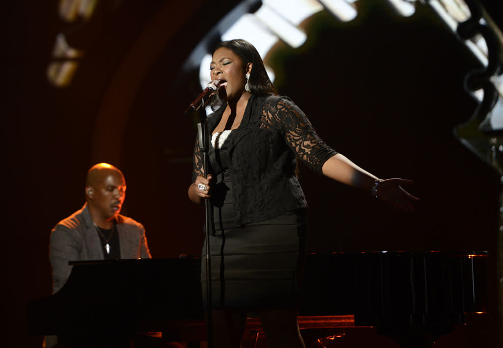 "Candice Glover performs ""You've Changed"" on the Wednesday, May 1 episode of ""American Idol."""