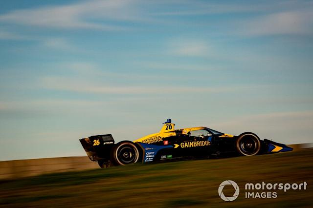 """Zach Veach, Andretti Autosport Honda <span class=""""copyright"""">Barry Cantrell / Motorsport Images</span>"""