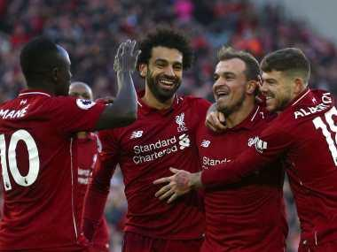 Premier League: Liverpool face Merseyside rivals Everton at Anfield; Arsenal host high-flying Tottenham on derby day