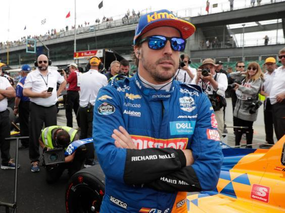 Fernando Alonso is being linked with an F1 return take would impact Vettel's options (AP)