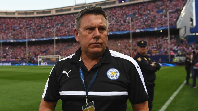 Craig Shakespeare Atletioc Madrid Leicester City UCL 12042017