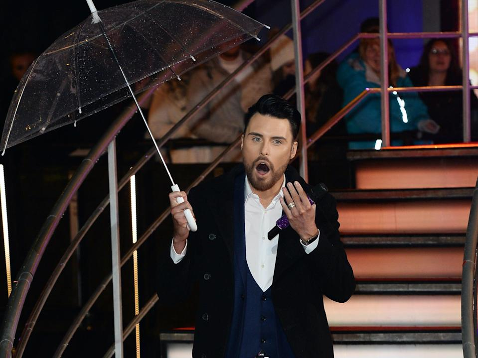 Rylan Clark-Neal was due to host the semi-finals of Eurovision 2021 (Getty Images)
