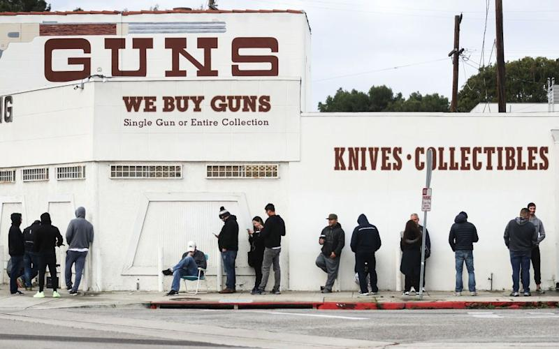 Fear of the Coronavirus Comes to Rescue the Gun Industry