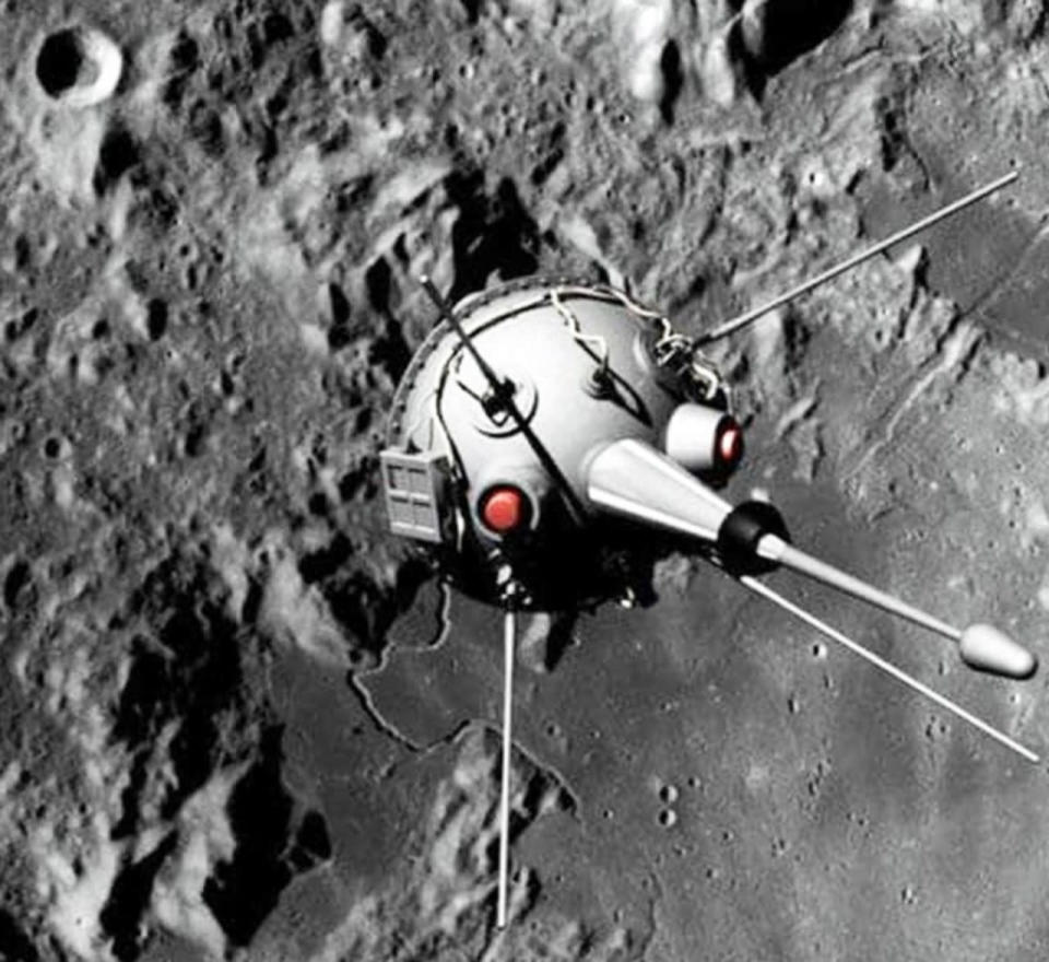 The Lunar 2 is the first human-made object to impact another celestial body