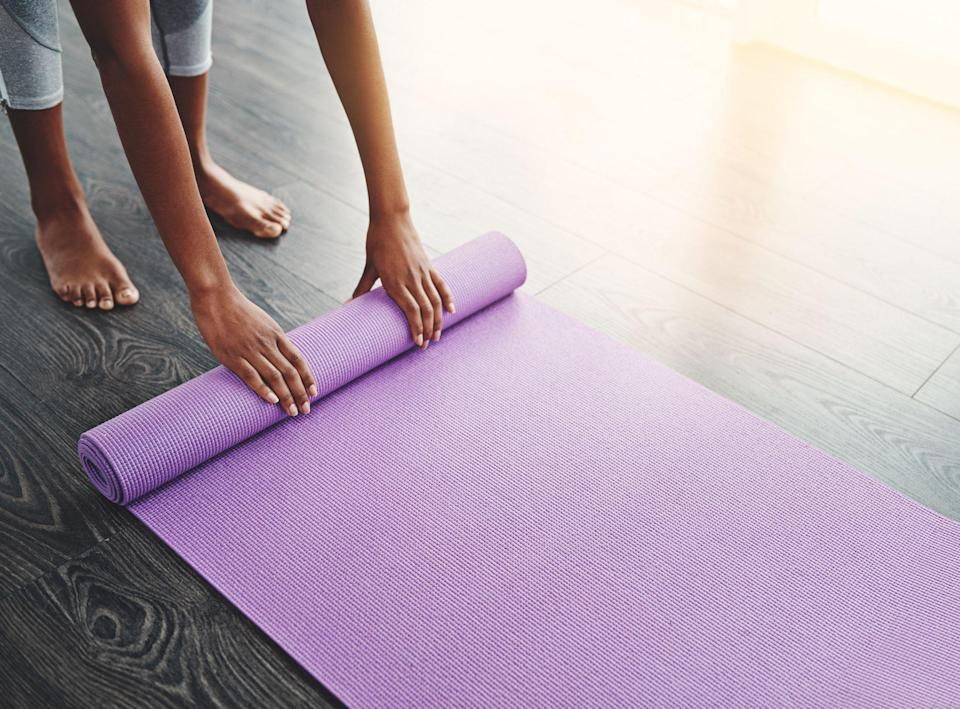 """<p>Designing the <a href=""""https://www.goodhousekeeping.com/home/decorating-ideas/g32128410/home-gym-ideas/"""" rel=""""nofollow noopener"""" target=""""_blank"""" data-ylk=""""slk:perfect home gym"""" class=""""link rapid-noclick-resp"""">perfect home gym</a> is more important now more than ever. Before you start shopping for equipment essentials like <a href=""""https://www.goodhousekeeping.com/health-products/g32433651/best-dumbbells/"""" rel=""""nofollow noopener"""" target=""""_blank"""" data-ylk=""""slk:dumbbells"""" class=""""link rapid-noclick-resp"""">dumbbells</a> and <a href=""""https://www.goodhousekeeping.com/health-products/g32434355/best-kettlebells/"""" rel=""""nofollow noopener"""" target=""""_blank"""" data-ylk=""""slk:kettlebells"""" class=""""link rapid-noclick-resp"""">kettlebells</a>, a top quality workout mat is crucial and the foundation of your home fitness haven.</p><p>Experts in the <strong>Good Housekeeping Institute Wellness Lab </strong>evaluate countless fitness products year round to bring you the best of the best in terms of functionality and durability. We analyzed a variety of different exercise mats, zoning in on specs like thickness level, weight, cushioning, grip, and aesthetics. Then, we put them to the test through a series of workout movements ranging from low-impact exercises like pushups and squats to high-intensity interval workouts featuring burpees and skater lunges (we worked up a sweat!). </p><p>We even tested the mats on both carpet and hardwood flooring to see how they performed with floor traction. Whether you're looking for a mat to get you through a pilates flow or to simply provide support during HIIT movements, we have top picks for all different types and levels of fitness.</p>"""