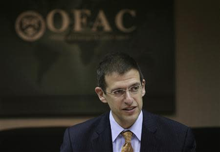 Office of Foreign Assets Control Director Szubin and his staff meet at U.S. Treasury Department in Washington