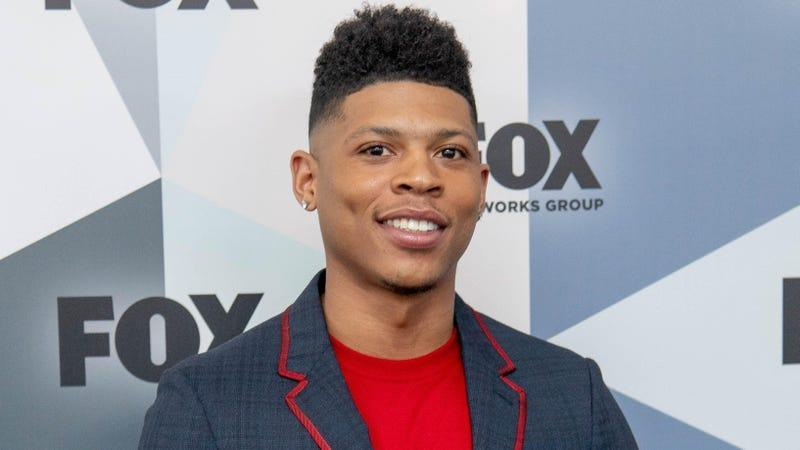 Bryshere Gray attends the 2018 Fox Network Upfront at Wollman Rink, Central Park on May 14, 2018, in New York City.
