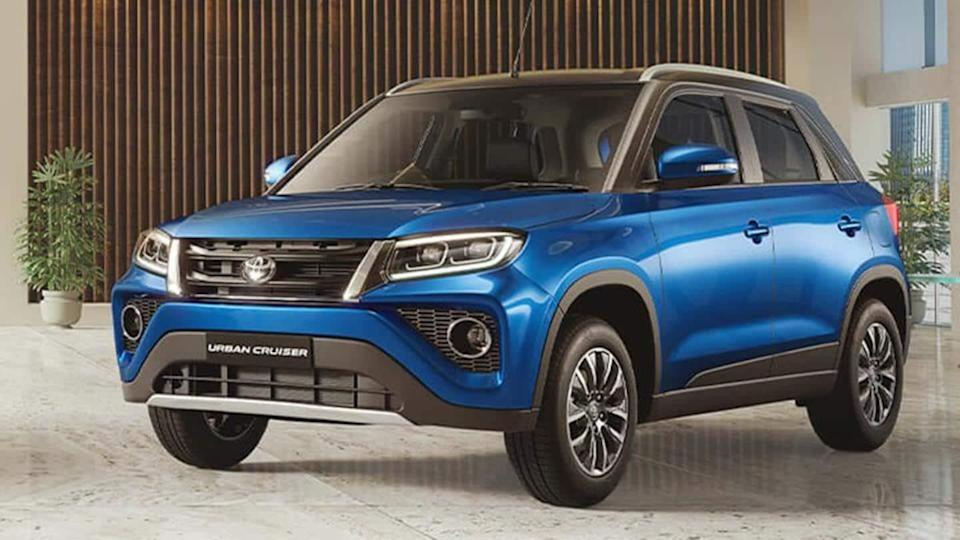 Toyota Urban Cruiser SUV recalled in India over airbag issue