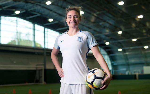 "The journey to international stardom is rarely straightforward, but few players can compete with England's Jodie Taylor when it comes to the sheer number of miles travelled in pursuit of the footballing dream. From Tranmere to California, Sweden to Sydney, Ottawa to London and more, Taylor's globetrotting has taken her across no fewer than three continents, five countries and 12 clubs. It is a journey of around 50,000 miles, enough to twice travel around the circumference of the planet, and it is an adventure that has, at long last, put her on the footballing map in her home country. Taylor, who did not play for England until she was 28, emerged as one of the sporting heroes of the summer thanks to a run of form that propelled her to the Golden Boot at the European Championships in Holland. Among her five strikes were three in one game against Scotland and a quarter-final winner in the country's first victory over France in 43 years. It was enough to see her named England's player of the year, and also to secure a nomination for the BT Sport Action Woman awards, in association with The Daily Telegraph. ""It has been pretty incredible,"" she says. ""I almost have to pinch myself when I think back to the summer."" Her year of triumph was more romantic because the 31-year-old had followed such a nomadic career, which she had feared would keep her out of England contention for good. Jodie Taylor After international selection finally came in 2014, Taylor was included in the squad for the 2015 World Cup in Canada but was so eager to impress that she rushed her way back from injury and never reached full fitness. ""Going into this summer's Euros feeling healthy and fit was great for me to be able to perform to the levels I know I am capable of,"" she says. ""The most pleasing thing was being at a major tournament at my best. The World Cup was just about getting there, because it took me years and years to crack the national team."" The obvious question, then, is why had she to wait so long for that England call? ""It was my choice to be abroad,"" she says. ""You do run the risk when you are away of being out of sight and out of mind. ""I came home for a while to show my face but I still felt being abroad was the right thing for me. The leagues that I went to were a lot more professional than in England at the time."" BT Sport Action Woman of the Year Awards Taylor's footballing CV is so lengthy that it could almost be serialised. It began at Tranmere Rovers, before she then moved to the US to play college football. From there, she went first to Canada and then back to the US. In 2010, she took to skies again, joining Melbourne Victory in Australia. Subsequent chapters show trips to Birmingham, a stint in Gothenburg, a return to Australia and then another journey to the US. Last year, she came home to sign for Arsenal, where she remains until next month at least. ""On reflection of my career, I would rather it had panned out the way it has, rather than being in the England squad at a younger age and not getting the experiences abroad,"" she says. ""It's pressure. I have found that has helped me through my career, always moving and pushing to better myself. Jodie Taylor has been nominated for the BT Sport Action Woman of the Year award ""Professionalism was one of the big reasons why I left in the first place and then came back and left again,"" she says. ""Teams were training twice a week but when I was at college in the States I was training every day. ""I came back last year and it's massively different. You actually feel like a full-time footballer."" Taylor's Arsenal contract expires in December, and it remains to be seen whether she will stay in England. She has said she is ""open"" to moving abroad again and, on past evidence at least, it would be a brave move to bet against Taylor packing her bags, Golden Boot and all, and hitting the road once more. The shortlist of nominees for Action Woman of the Year was selected by a panel of industry experts. Each will be featured in The Telegraph this week. The public will decide the winner, so cast your vote at btsport.com/ActionWoman2017"