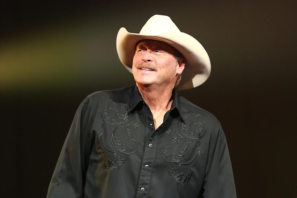 Alan Jackson opens up about living with a hereditary degenerative condition  (Image via Getty Images).
