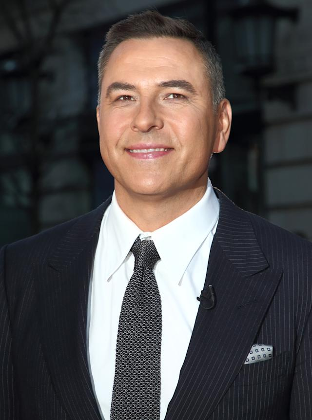 David Walliams attends the Britain's Got Talent Auditions Photocall at the London Palladium.- PHOTOGRAPH BY Keith Mayhew / Echoes Wire/ Barcroft Media (Photo credit should read Keith Mayhew / Echoes Wire / Barcroft Media via Getty Images)