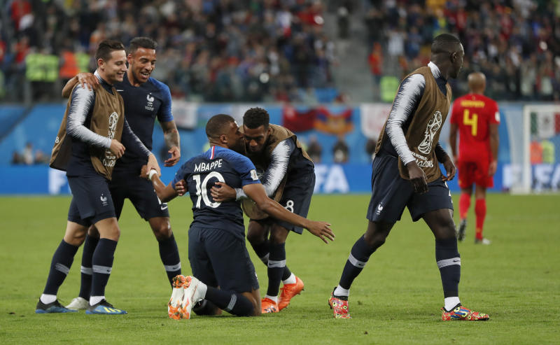 The Latest  Pogba dedicates France win to freed Thai players 46b80dab97