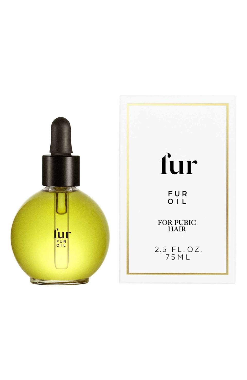 """<h3><strong>Fur Skincare</strong> Fur Oil</h3> <p>For some people, plant extracts and <a href=""""https://www.refinery29.com/en-us/are-essential-oils-good-for-skin"""" rel=""""nofollow noopener"""" target=""""_blank"""" data-ylk=""""slk:essential oils"""" class=""""link rapid-noclick-resp"""">essential oils</a> can cause allergic reactions, says Dr. Mudgil. But for us, the anti-inflammatory and anti-microbial jojoba, grapeseed, clary sage, and tea-tree oils in this blend proved to be soothing to skin. (As always, <a href=""""https://www.refinery29.com/en-us/reddit-skincare-addiction-acronyms-terms"""" rel=""""nofollow noopener"""" target=""""_blank"""" data-ylk=""""slk:YMMV"""" class=""""link rapid-noclick-resp"""">YMMV</a>.)</p> <br> <br> <strong>Fur Skincare</strong> Fur Oil, $46, available at <a href=""""https://shop.nordstrom.com/s/fur-skincare-fur-oil/4865248"""" rel=""""nofollow noopener"""" target=""""_blank"""" data-ylk=""""slk:Nordstrom"""" class=""""link rapid-noclick-resp"""">Nordstrom</a>"""
