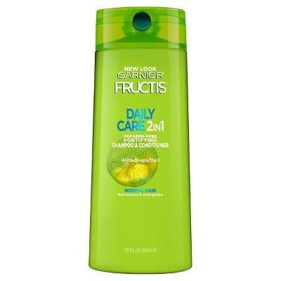 <p>Sometimes a multitasking product is all you need to save yourself some shower time and water. With the <span>Garnier Fructis Daily Care 2-in-1 Fortifying Shampoo &amp; Conditioner</span> ($5), you get clean and conditioned hair in just one step.</p>