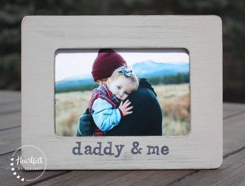 Personalized Picture Frame. Image via Etsy.