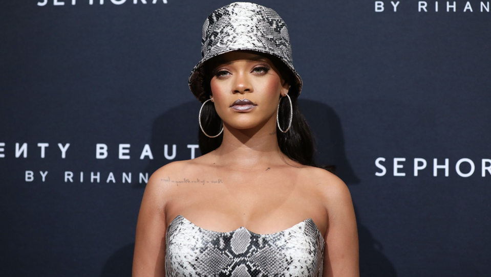 Rihanna's Fenty, Fenty Beauty and SavagexFenty beauty brands have made donations to anti-racism organizations and temporarily suspended business on #BlackoutTuesday. (Image via Getty Images)