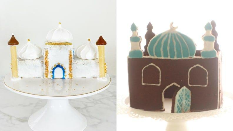 The kids may ask for a gingerbread mosque every year.