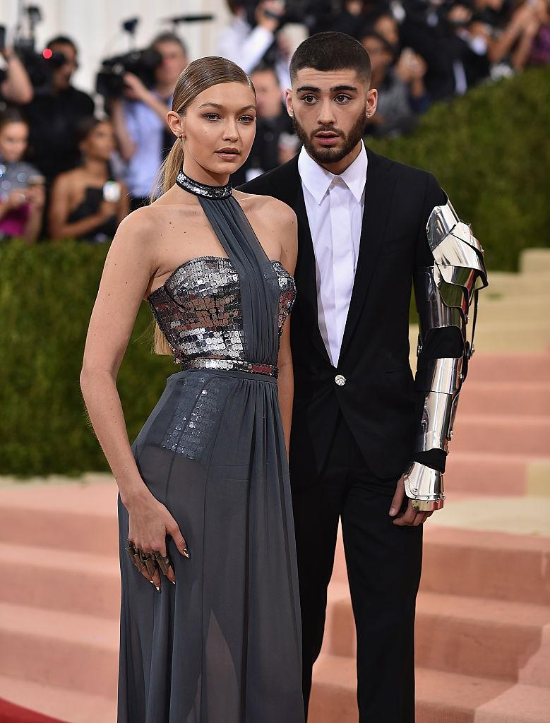 The couple made their Met Gala appearance in 2016.(Getty Images)