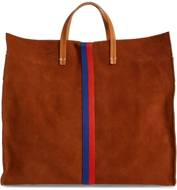 """<p>Clare V. Simple Tote, $333 (from $555), <a href=""""https://rstyle.me/+yK9x9ZQpu1q7DDGoI03tgw"""" rel=""""nofollow noopener"""" target=""""_blank"""" data-ylk=""""slk:available here"""" class=""""link rapid-noclick-resp"""">available here</a>. </p>"""