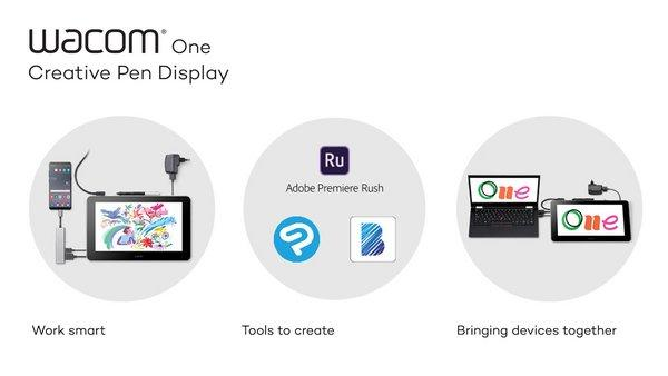 There's some-more than 35 years of training and creation behind Wacom One, all operative towards a prophesy of enabling digital creativity. Wacom One is here, and it's for everyone. Switch on and learn how your bland only got improved.
