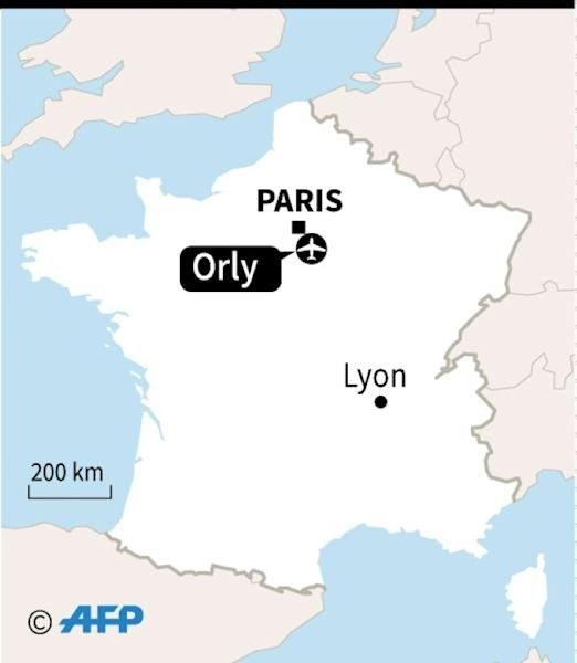 Man shot dead by security forces at Paris' Orly airport