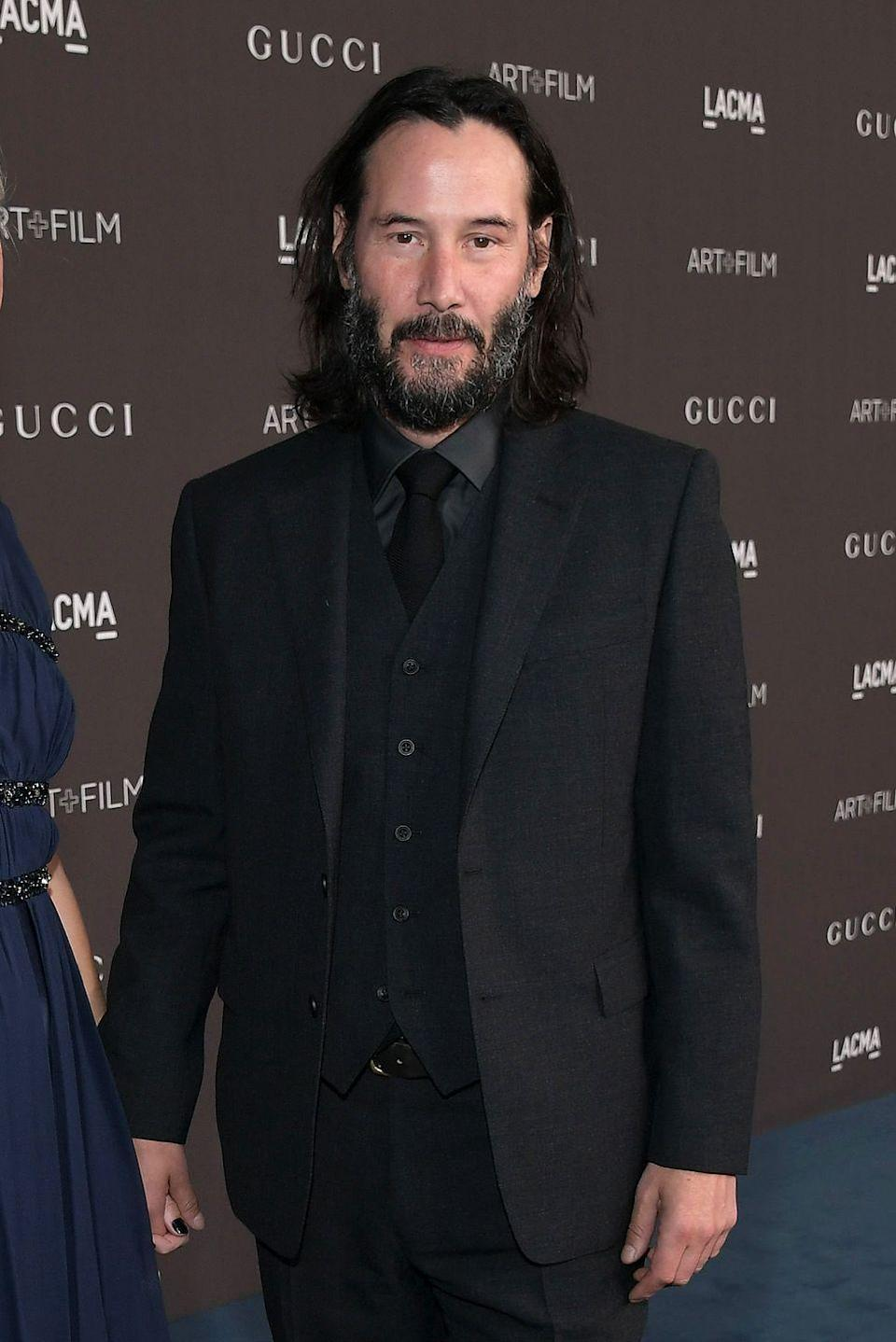 <p>As of late, Keanu's known for starring in action films. It would be nice to see him kick back and do some comedy once in a while.</p>