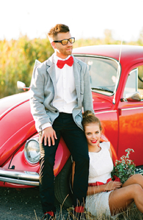 """<div class=""""caption-credit""""> Photo by: Bell Studio</div>We love the cool looks for grooms that accompany this hip style! <br> <a rel=""""nofollow noopener"""" href=""""http://lover.ly/explore/men?utm_source=shine08-20-13rockabilly&utm_medium=guest&utm_campaign=shine08-20-13rockabilly"""" target=""""_blank"""" data-ylk=""""slk:Modern wedding attire for men"""" class=""""link rapid-noclick-resp"""">Modern wedding attire for men</a> <br> Photo by: <a rel=""""nofollow noopener"""" href=""""http://estherandgabe.com/"""" target=""""_blank"""" data-ylk=""""slk:Bell Studio"""" class=""""link rapid-noclick-resp"""">Bell Studio</a> on <a rel=""""nofollow noopener"""" href=""""http://www.wellgroomedblog.com/2013/02/well-groomed-groom-pattern-and-pop.html?utm_source=feedburner&utm_medium=feed&utm_campaign=Feed%3A+well-groomed+%28Well-Groomed%29"""" target=""""_blank"""" data-ylk=""""slk:Well Groomed"""" class=""""link rapid-noclick-resp"""">Well Groomed</a> <a rel=""""nofollow noopener"""" href=""""http://lover.ly/image/420243"""" target=""""_blank"""" data-ylk=""""slk:via Lover.ly"""" class=""""link rapid-noclick-resp"""">via Lover.ly</a>"""