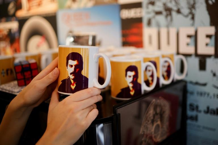 'Queen The Greatest' opens its doors on Tuesday and takes visitors back to the early days of the band (AFP/Tolga Akmen)