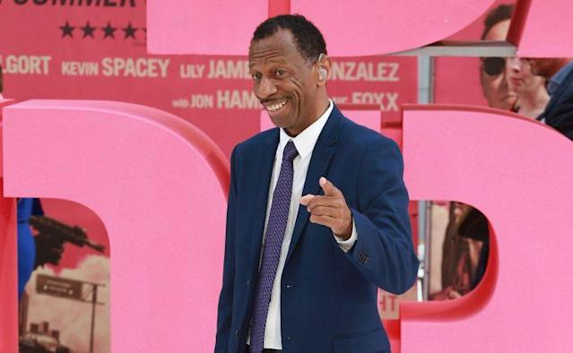 CJ Jones at the London premiere of 'Baby Driver' (Getty)