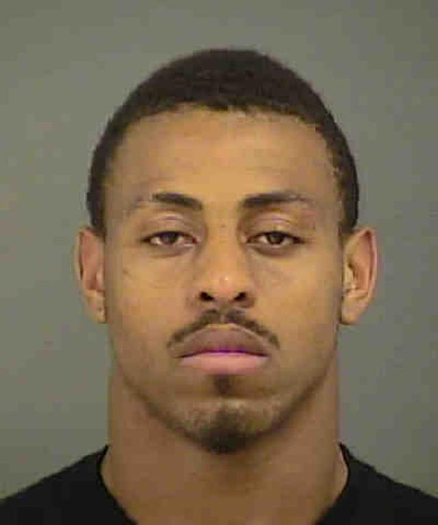 Panthers DE Hardy remains jailed after arrest