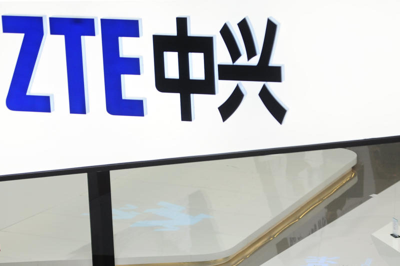 US bars China's telecom giant ZTE from buying US components