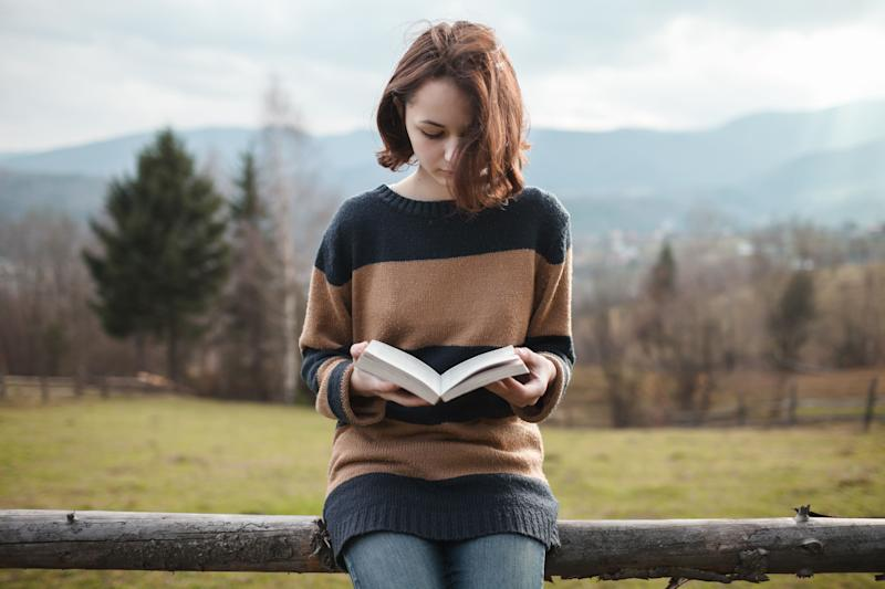 "Read a book for <a href=""http://www.telegraph.co.uk/health/healthnews/5070874/Reading-can-help-reduce-stress.html"" target=""_hplink"">six minutes</a>."