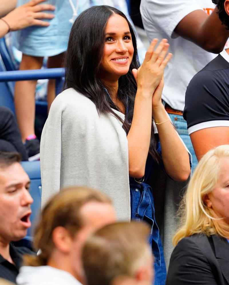Meghan Markle at the U.S. Open | Gotham/GC Images