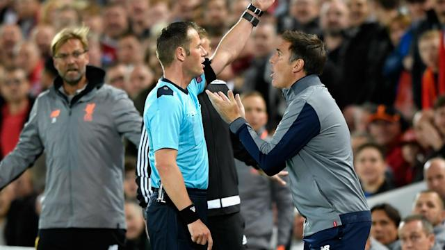 Eduardo Berizzo was dismissed in the draw with Liverpool, but the Sevilla coach had his reasons for his actions.