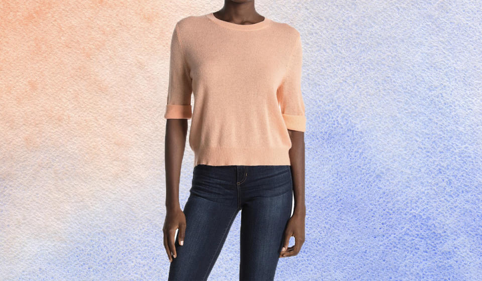 This simple, stunning sweater can brighten up even the gloomiest of days. (Photo: Nordstrom Rack)
