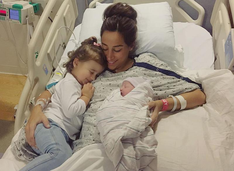 Kevin Jonas Elder Child Alena Meets New Little Sister Valentina For The First Time See The Cute Photo