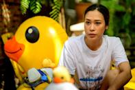 Inthira 'Sai' Charoenpura, a star of Thailand's silver screen, says she has had movie contracts cancelled since joining the protests