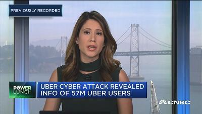 CNBC's Deirdre Bosa reports the latest on Uber's cyber attack which stole data from drivers and riders and the company paying to cover it up.