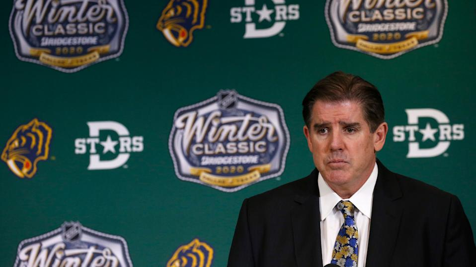 The Preds aren't eyeing a coaching change anytime soon. (Photo by Eliot J. Schechter/NHLI via Getty Images)