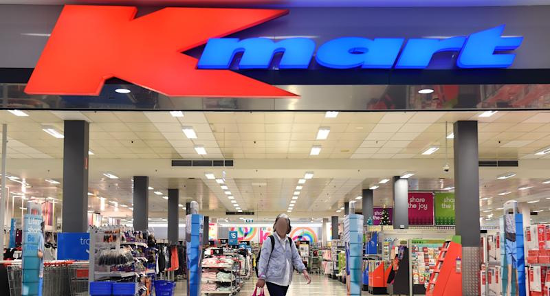 A Kmart team member at Greensborough Plaza has tested positive for coronavirus. Pictured is a stock image of a Kmart.