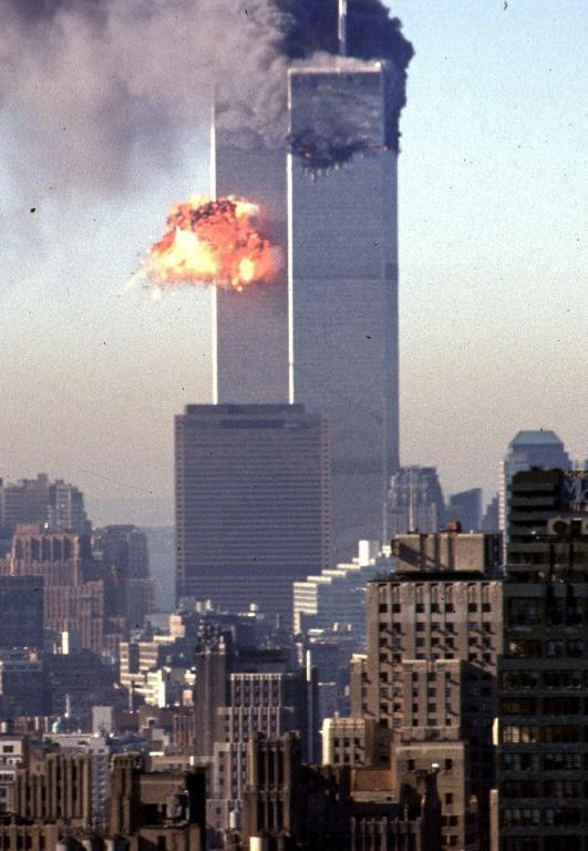 At the end of the week, the world will also mark the 20th anniversary of the September 11, 2001 attacks which were the largest terror attacks on the West in recent times, claimed by the IS group's rival Al-Qaeda (AFP/SETH MCALLISTER)