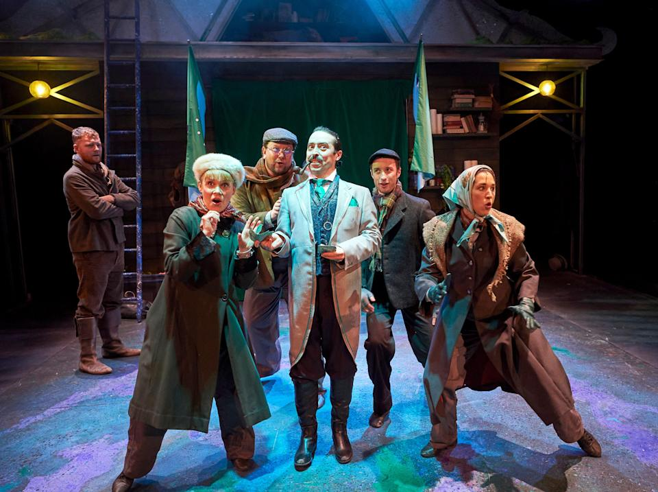 <p>The Sorcerer's Apprentice is an inoffensive but flimsy family show</p> (Geraint Lewis)