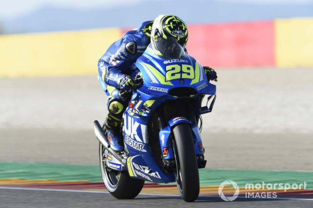 """2018: Andrea Iannone <span class=""""copyright"""">Gold and Goose / Motorsport Images</span>"""