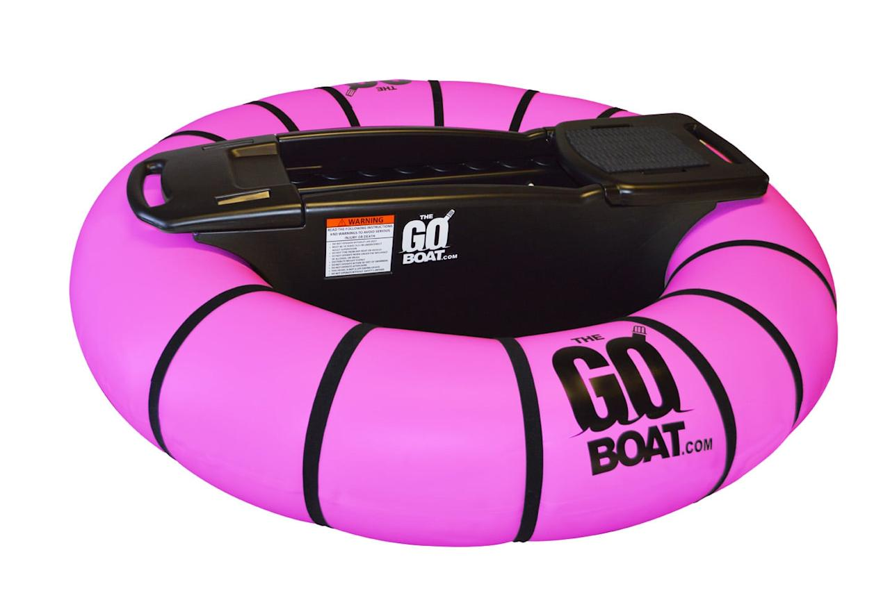 """<p><a href=""""https://www.popsugar.com/buy/The%20GoBoat%20Motorized%20Pool%20Float%20in%20Pink-472815?p_name=The%20GoBoat%20Motorized%20Pool%20Float%20in%20Pink&retailer=thegoboat.com&price=314&evar1=savvy%3Aus&evar9=46424739&evar98=https%3A%2F%2Fwww.popsugar.com%2Fsmart-living%2Fphoto-gallery%2F46424739%2Fimage%2F46424742%2FGoBoat-Motorized-Pool-Float-Pink&list1=outdoor%20activities%2Cpool%20floats&prop13=api&pdata=1"""" rel=""""nofollow"""" data-shoppable-link=""""1"""" target=""""_blank"""" class=""""ga-track"""" data-ga-category=""""Related"""" data-ga-label=""""https://www.thegoboat.com/product/order-thegoboat/"""" data-ga-action=""""In-Line Links"""">The GoBoat Motorized Pool Float in Pink</a> ($314)</p>"""