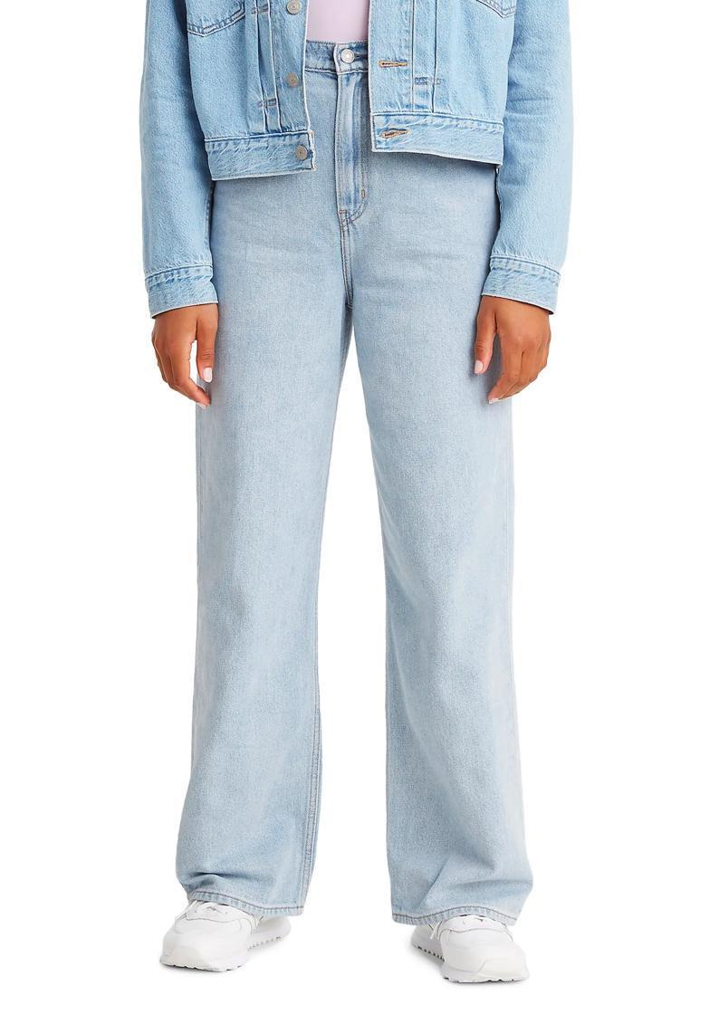 "A light-wash style ideal for park strolls, these loose jeans from Levi's are so versatile and pair surprisingly well with heels, too (if you still own any of those). $98, Nordstrom. <a href=""https://www.nordstrom.com/s/levis-high-loose-high-waist-wide-leg-jeans-loosey-goosey/5561800"" rel=""nofollow noopener"" target=""_blank"" data-ylk=""slk:Get it now!"" class=""link rapid-noclick-resp"">Get it now!</a>"
