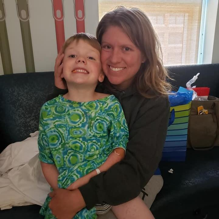 Maribeth Leeson of Indiana almost lost her 5-year-old son Adam to drowning. She is begging parents to not make her mistakes. (Photo: Courtesy of Maribeth Leeson)