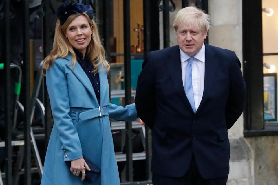 <p>The Vote Leave allies allegedly referred to Carrie Symonds as 'Princess Nut Nuts'</p>Getty