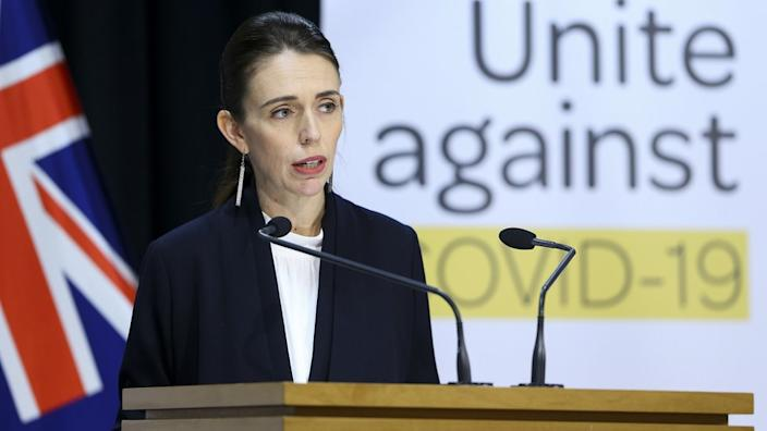 Jacinda Ardern Announces That New Zealand Has
