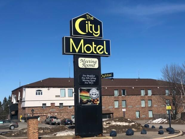 The John Howard Society's proposed City Motel project in Fredericton was denied federal funding.   (Gary Moore/CBC - image credit)